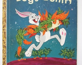 Bugs Bunny, Little Golden Book, Tom McKinson, Al Dempster