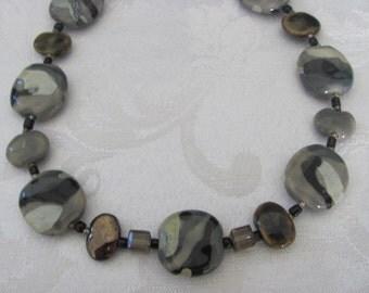 Kazuri bead necklace