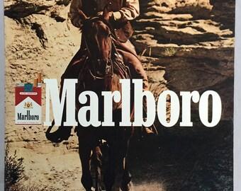 1981 Marlboro Cigarette Print Ad