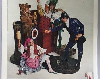 1968 Smirnoff Vodka Print Ad