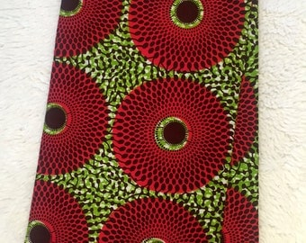 African Wax Print Fabric (Sold by the yard)