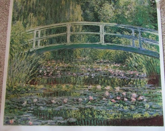 Monet's Years At Giverny St Louis Art Museum poster-October 1978