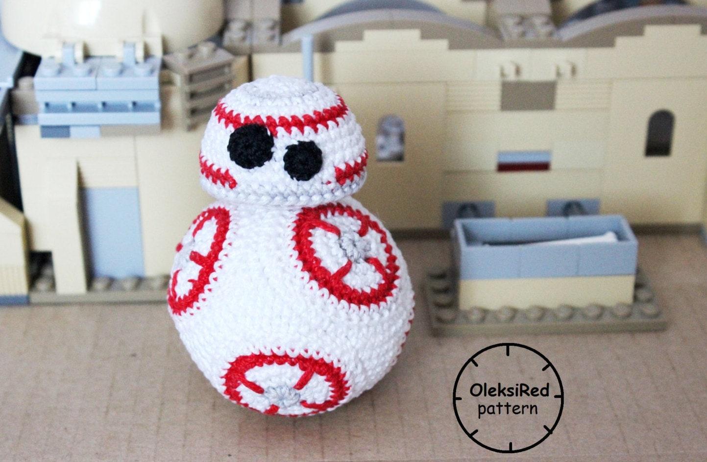 Free Star Wars Bb 8 Crochet Pattern : Star Wars CROCHET PATTERN Droid Bb8 amigurumi pattern