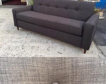 "82"" Charcoal Grey Mid-Century Modern Sofa~ Design 59 inc"