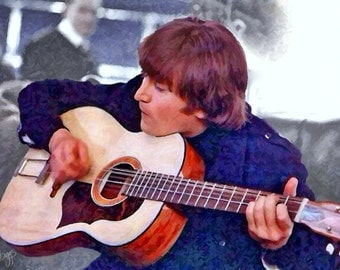 John on Acoustic Guitar