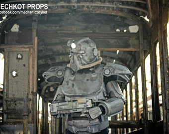 Fallout inspired T-51 Power Armor and Laser Rifle Prop bundle