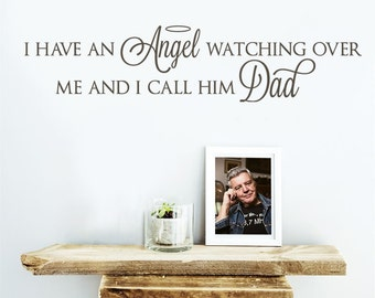 I Have an Angel Wall Sticker, In Memory Wall Vinyl Decal