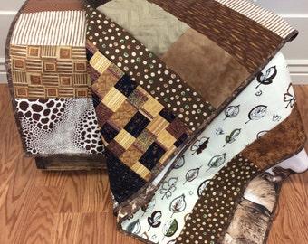 Brown Safari Quilt
