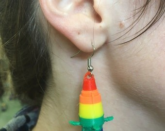 Stage light earrings (multi color)