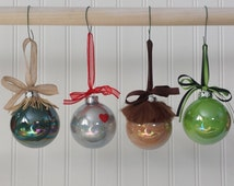 Wizard of Oz Ornaments - Complete set of 6