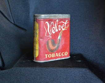 Velvet Pocket Tobacco Tin