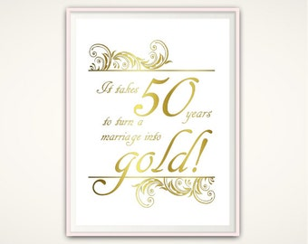 Golden Wedding Anniversary Gift Ideas For Parents : ... wedding anniversary poster golden anniversary gift ideas parents