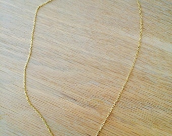 Necklace chevron (gold)