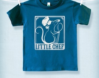 Little Chef - Ratatouille - Organic Kids' Fine Jersey Short Sleeve T - Custom Screen Printed