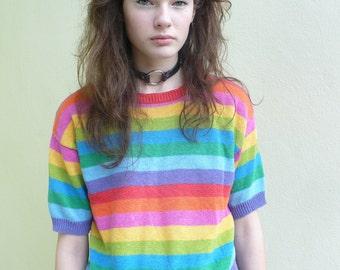 Rainbow bb sweaterette