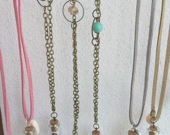 Mini Beach Pendant / ibiza mini beach necklace / treasure necklace