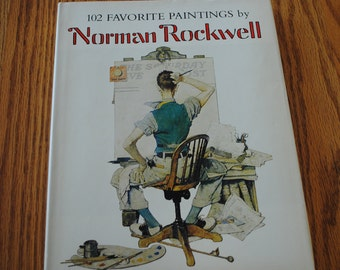 102 Favorite Painting by Norman Rockwell Book