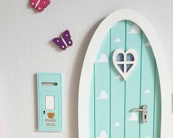 Fairy door accessory - miniature postbox - fairy door extra elf door pixie door - fairy mail