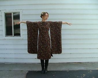 The Midnight Kimono Dress