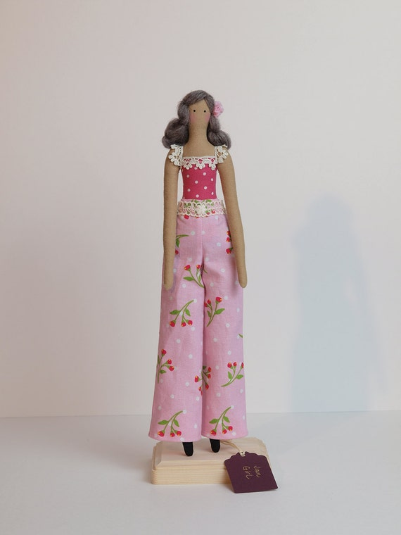 Jan Girl - Tilda-style doll