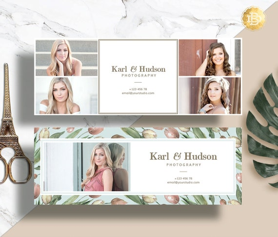 Facebook Cover Template for Photographer, Facebook Timeline Cover Photoshop, Facebook Header Template - INSTANT DOWNLOAD - FC001