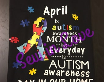 Everyday is Autism Awareness Day in our home