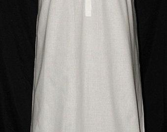 thewhitecottongown.com Ashley White Cotton Gown 320