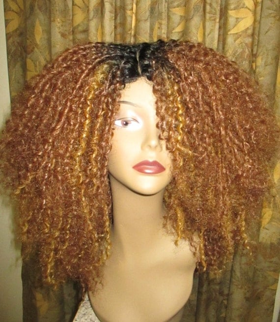 Essence Wigs Kinky Straw Curled Natural Hair Wig Premium Remy ...