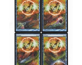 Magic The Gathering (MTG)- Negate cosmic alter play set