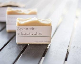 Spearmint, Eucalyptus & Goat's Milk Soap