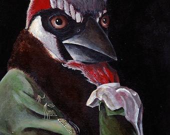 Bird Art - Bird Illustration - Art Prints - Nursery Art Prints - Wall Art - Children's Art - A4