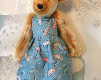 Meet Melissa. A Handmade, designer bear.