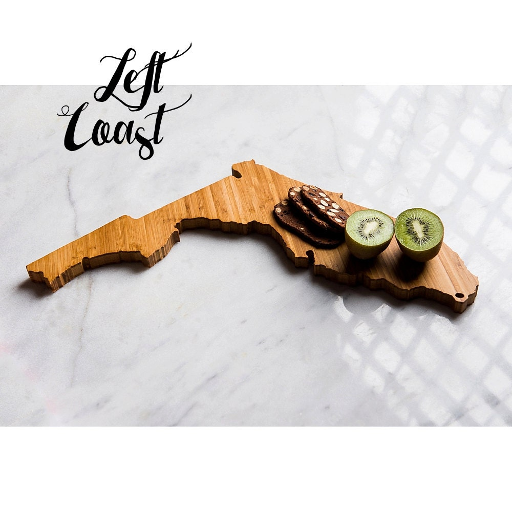 Kitchen Gift For Mom Florida Cutting Board Personalized State Wedding Gift Home Men