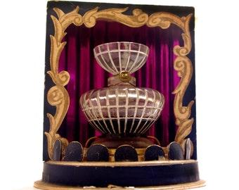 Vintage Commercial Perfume Bottle Lucien Lelong Opening Night