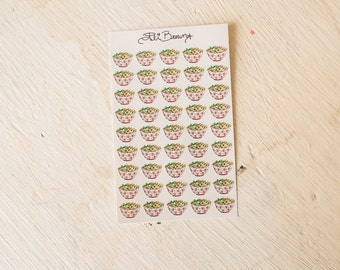 HEALTHY EATING Planner Stickers