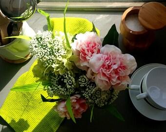 Lovely Day - Silk flower centerpiece