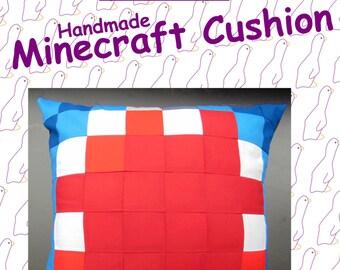 ibalistic Squid from Minecraft. Handmade Minecraft Cushion