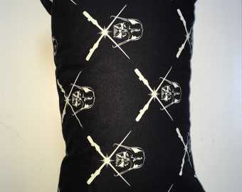 Handsewn throw pillow, Star Wars style