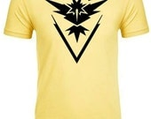 PREMIUM Team Instinct Shirt / Yellow Team T-Shirt (Inspired by Pokemon Go )- Unisex XS-4XL Available along with Ladies -Super Soft and Comfy