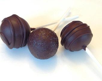 GLUTEN FREE VEGAN Brownie Birthday/Shower/Wedding Cake Pops Made to Order