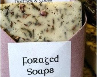 Foraged: Wild Irish Heather & Moss Soap