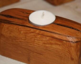 Single tea light holder