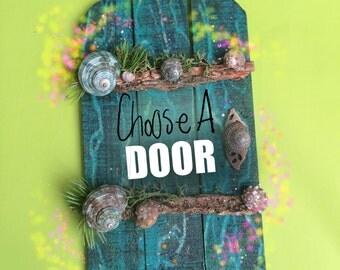 Fairy Door Rustic and Magical in Nature