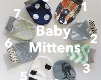 Baby Mittens   No scratch mittens   Mittens   Newborn Mittens   Baby Gloves    baby accessories   baby gift   size 0-6 months  
