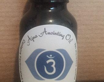 Ajna (Third Eye Chakra) Meditation Oil