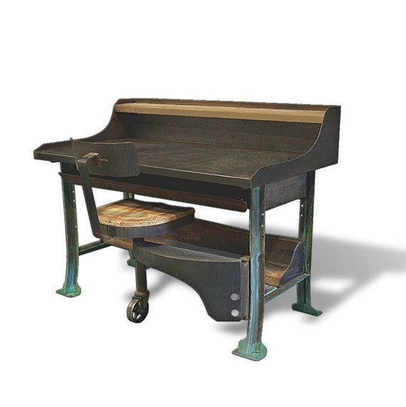 The Charlie Worktable from Oil Field Slang