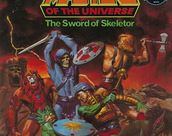 He-Man Masters of the Universe The Sword of Skeletor Book