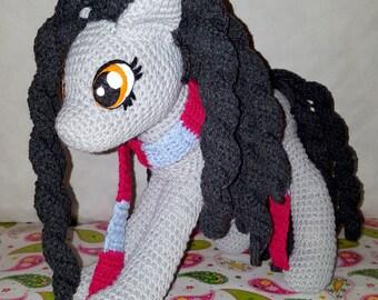 Sherly crochet pony, My little pony
