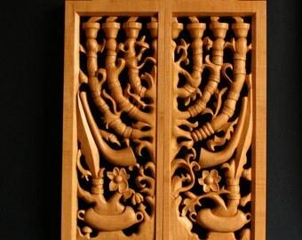 Messianic ART Woodcarving