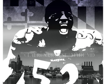 Heart of Baltimore Poster - Ray Lewis